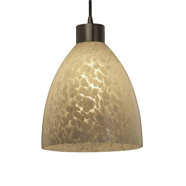 Justice Design Group Fusion Large Pendant Short Tapered Cylinder, Droplet
