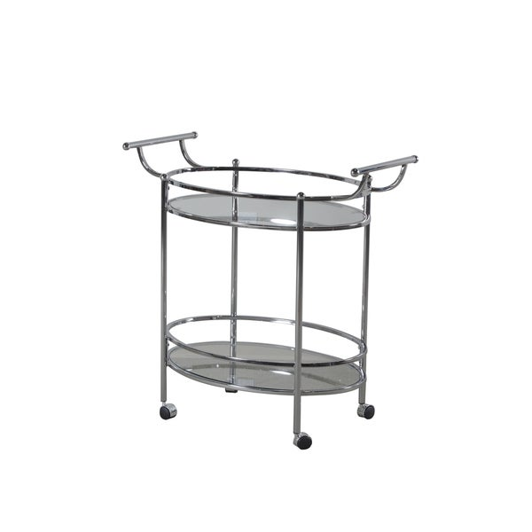 Oh! Home Minerva Chrome Service Cart