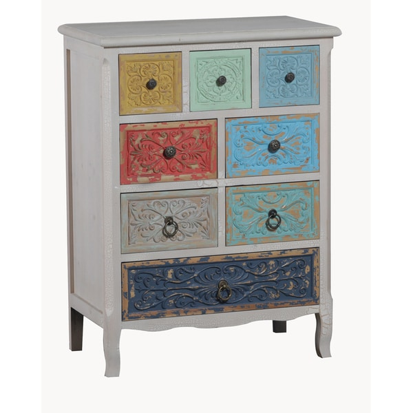 Oh! Home Erin 8 Drawer Storage Cabinet