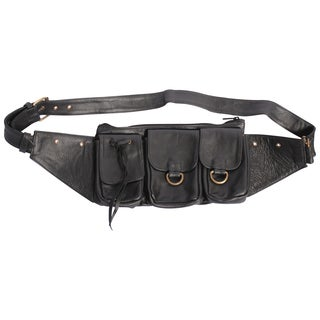 Practical Leather Pouch Fanny Pack (India)