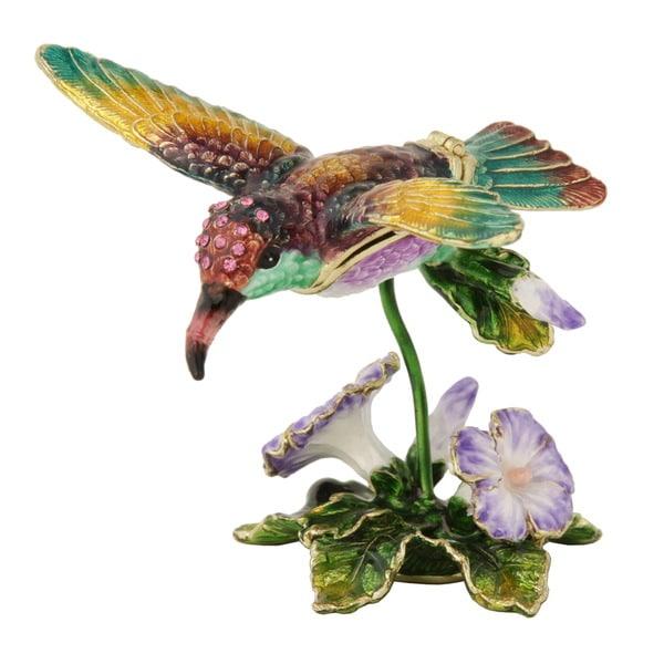 Hummingbird Trinket Box