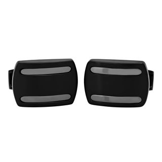 Black Stainless Steel Cufflinks