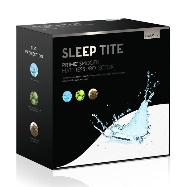Sleep Tite Pr1me Smooth 100-percent Waterproof Hypoallergenic Mattress Protector
