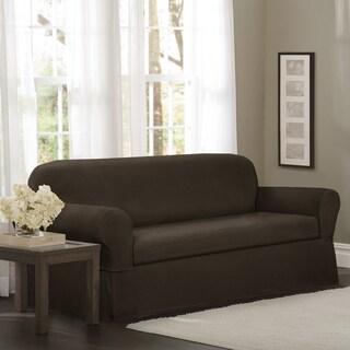 Maytex Torie 2-piece Stretch Sofa Slipcover
