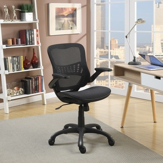 Serta Fusion Ergonomic Manager Mesh Black Chair