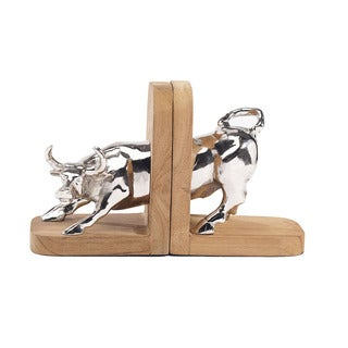 Tabletop Bull Bookend