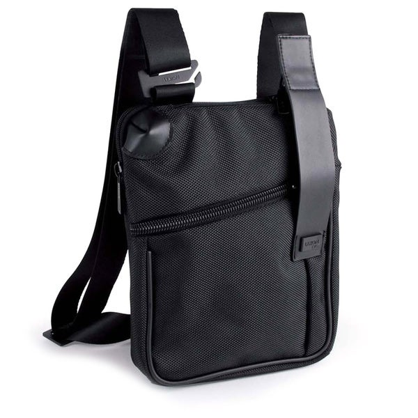 Lexon Evo Black Ipad Cross Shoulder Bag