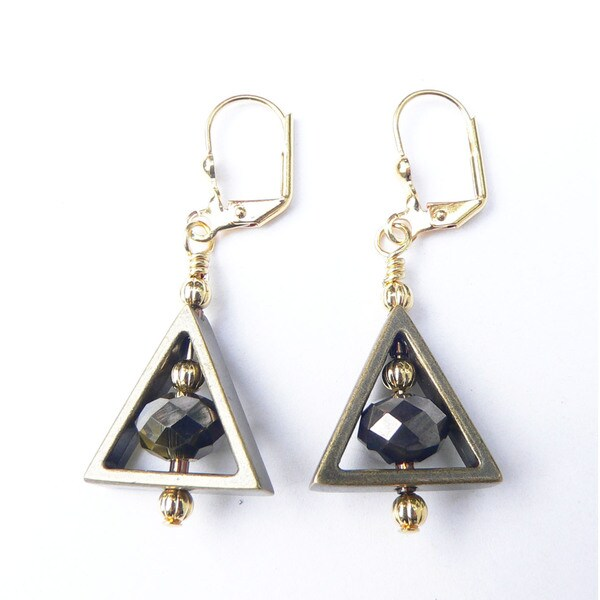 Palm Tree Gems 'Trinity' Dangle Earrings 16504924