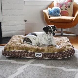 Simmons Retro Plus Reversible Dog Bed