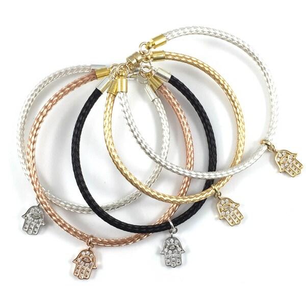 Bella Firenze Hamsa Charm Bracelet
