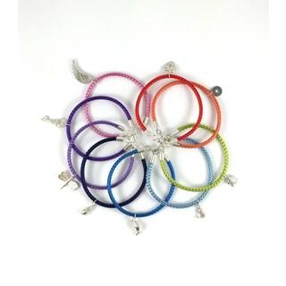 La Vita Dolce Sterling Silver Charm Bracelets