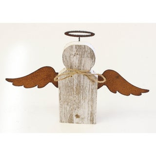 Natural Reclaimed Rustic 9-inch Angel