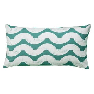 Rizzy Home Swirl Design Throw Pillow