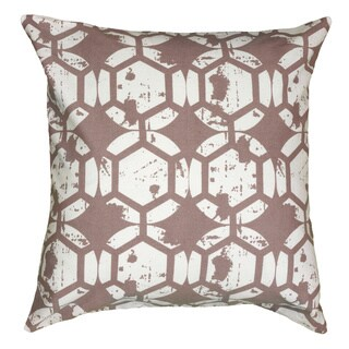Rizzy Home 20 Inch Geometric Throw Pillow