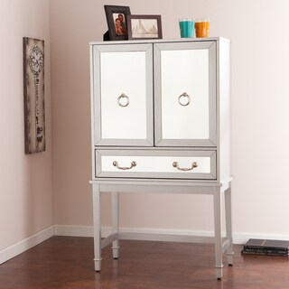 Upton Home Minna Mirrored Bar Cabinet
