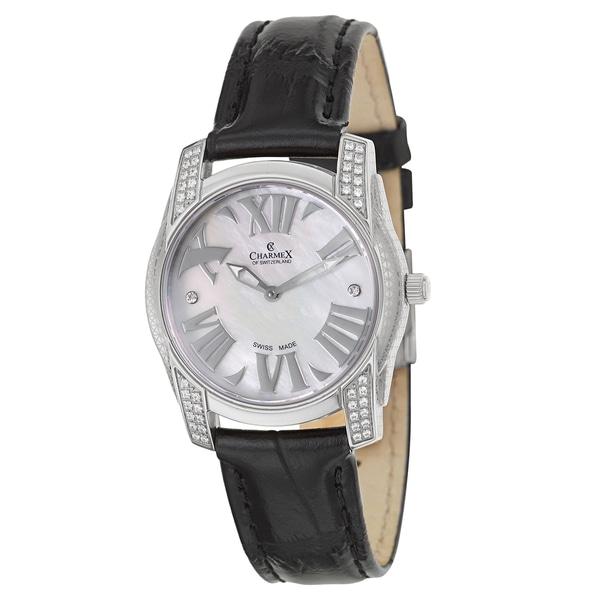 Charmex Women's 6046 Leather Watch