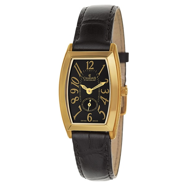Charmex Women's 5627 Leather Watch