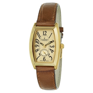 Charmex Women's 5626 Leather Watch