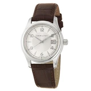 Hamilton Men's H18451555 Leather Watch