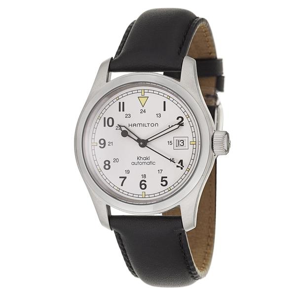 Hamilton Men's H70415713 Leather Watch