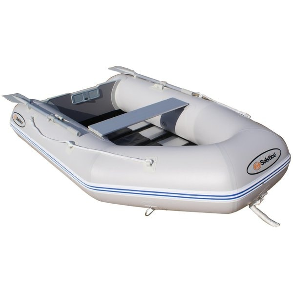Solstice Sportster 265 Grey 3-Person Runabout Boat with Aluminum Floor / Model 21265