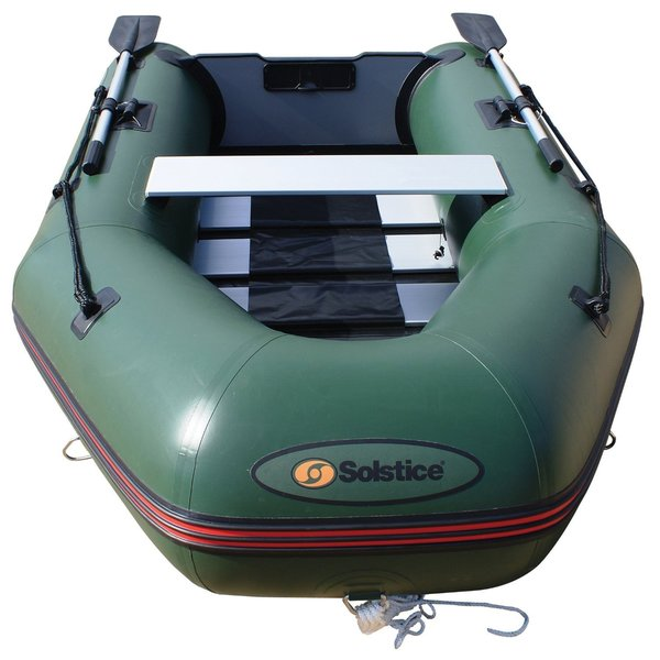 Solstice Sportster 265 Green 3-person Runabout Boat with Aluminum Floor