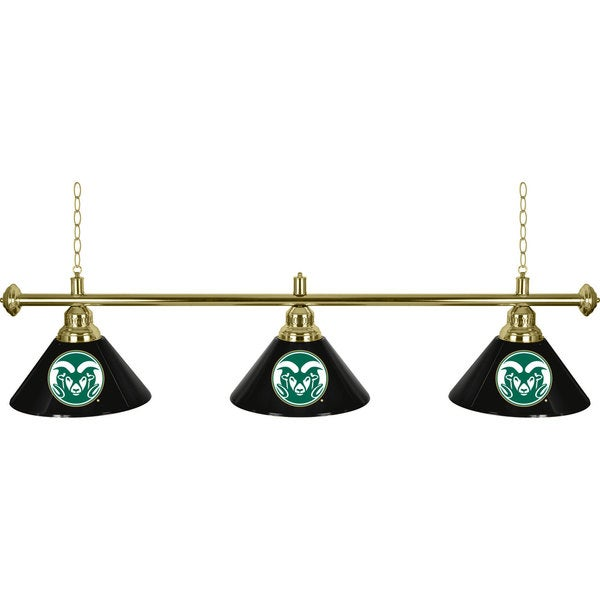 Colorado State University 3 Shade Billiard Lamp 16507957