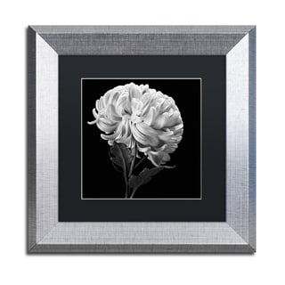 Michael Harrison 'Mum II' Black Matte, Silver Framed Wall Art