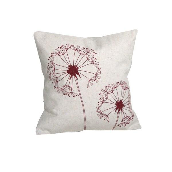 Dandelion Small Throw Pillow