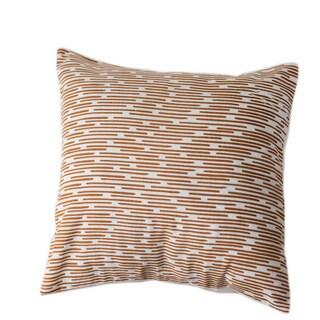 Burnt Channels Large Pillow