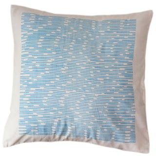 Cerulean Channels Large Pillow