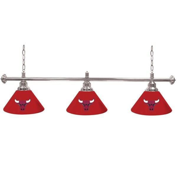 Chicago Bulls NBA 3 Shade Billiard Lamp 16508711