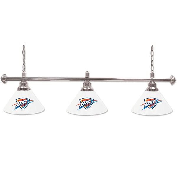 Oklahoma City Thunder NBA 3 Shade Billiard Lamp 16508739