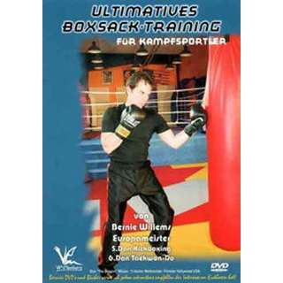 Ultimate Heavy Punching Bag Workout DVD Willems MMA striking martial arts karate