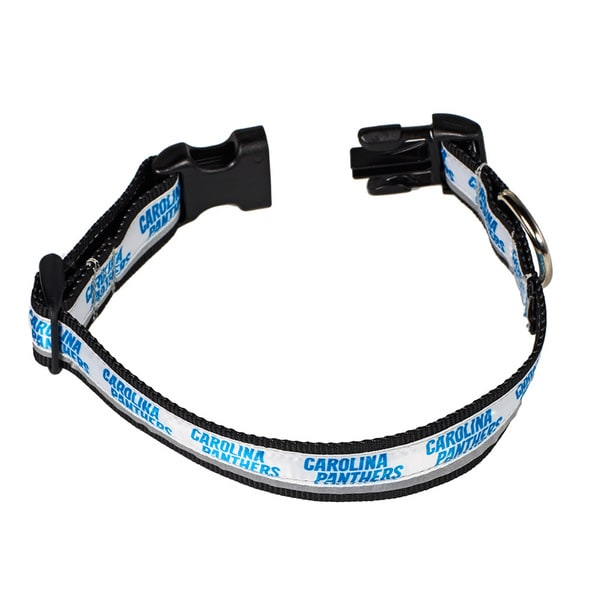 Petflect Carolina Panthers Reflective Collar