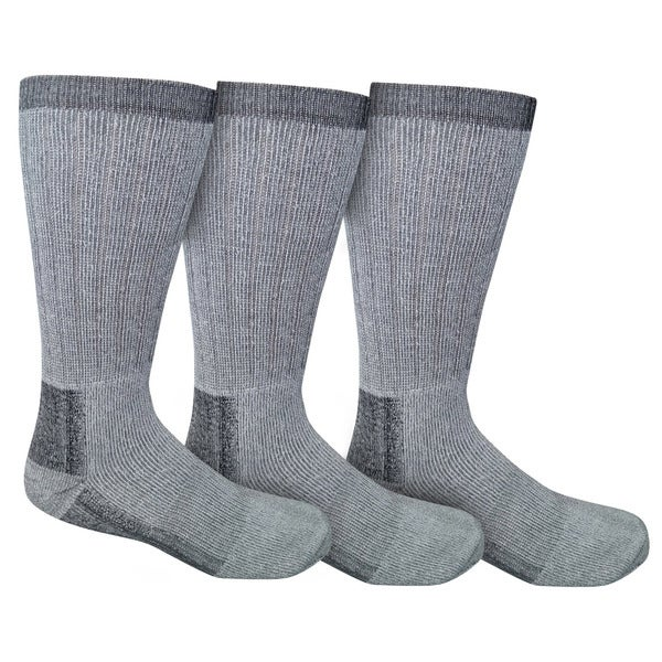 Men's Merino Wool Hiking Hunting Trekking Camping Socks (Set of 3)