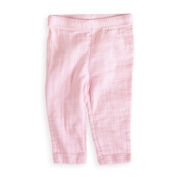 aden + anais Girls 0-3 Months Lovely Pink Muslin Pants