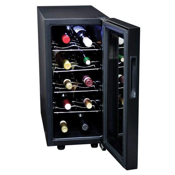 Koolatron KWT10BN Black 10-bottle Wine Cooler
