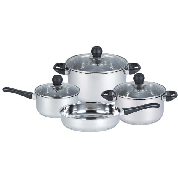 7-piece Stainless Steel Cookware Set