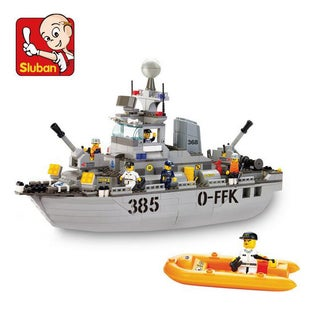 Sluban Interlocking Bricks Destroyer M38-B0125