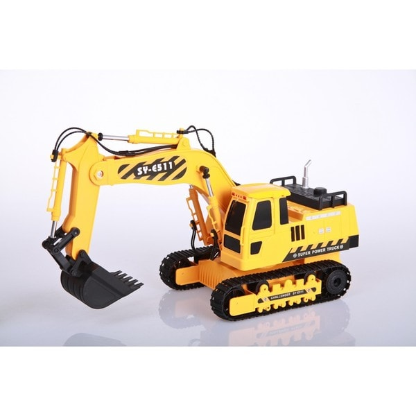 E511-003 8 Channel RC Excavator with Sound and Lights