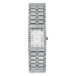 Croton Women's CN207536SSMP Stainless Steel Silvertone Mother of Pearl Watch