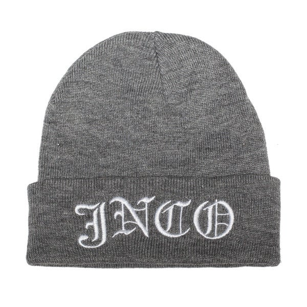 JNCO Grey/ Black Core Beanie