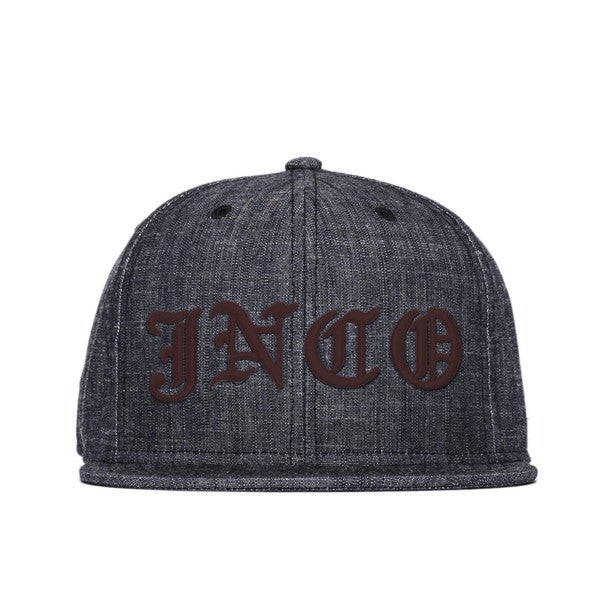 JNCO Men's Indigo Chambray Snapback Hat