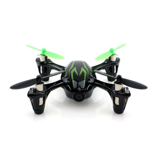 Hubsan X4 H107C Black/ Green 2.4Ghz 4ch Mini Quadcopter with Camera