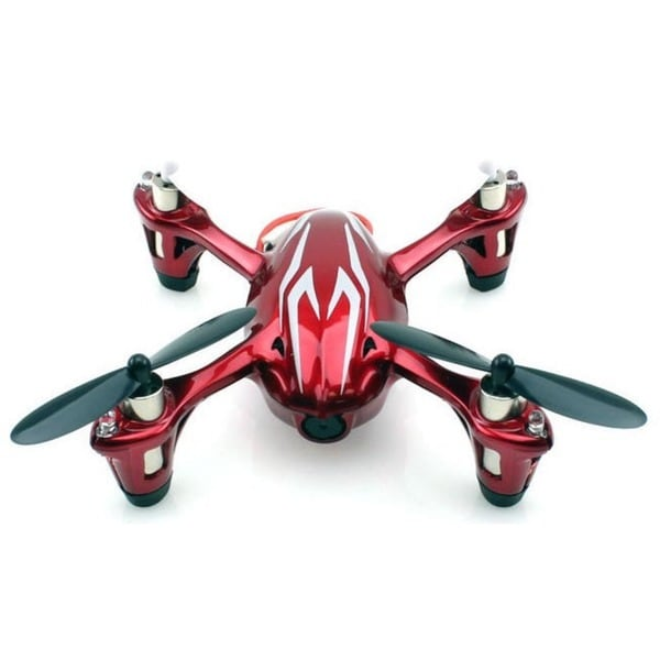 Hubsan X4 H107C 2.4Ghz 4-channel Red/ White Mini Quadcopter with Camera