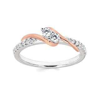 2 Stone 1/4ct TDW Diamond Ring
