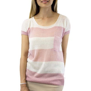 Relished Stripe Minuet Sweater Blouse
