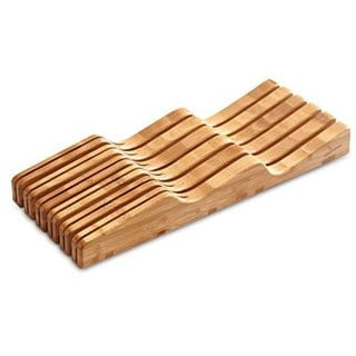 Culina Bamboo In-Drawer Knife Block Tray