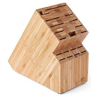 Culina Bamboo 19-insert Countertop Knife Block